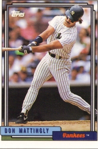 Don Mattingly, 1992 Topps